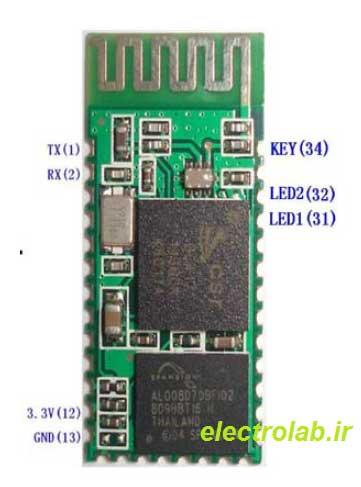hc-05 الکترولب