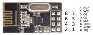 NRF pin الکترولب