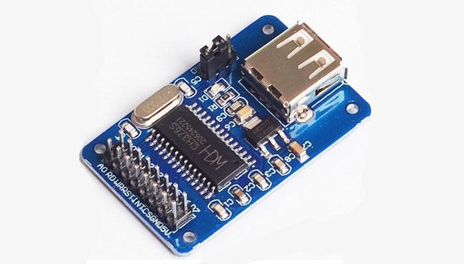 Photo of راه اندازی ماژول USB HOST تراشه CH376S با آردوینو